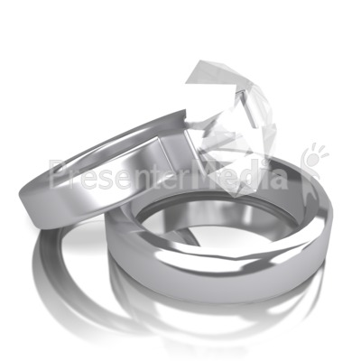 Two Rings Presentation clipart