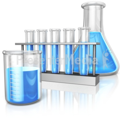Beaker Test Tube And Flask Presentation clipart