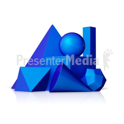 Geometric Shapes Presentation clipart