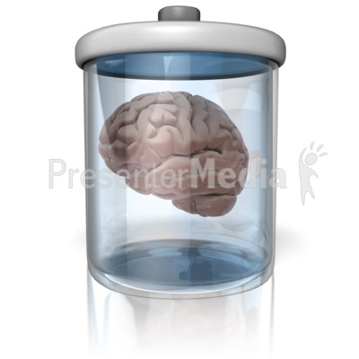 Brain In A Jar Presentation clipart