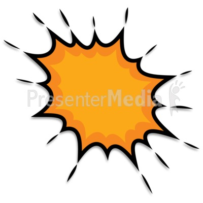 Splat Point Expression Presentation clipart
