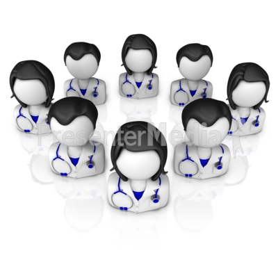 Physicians Group Presentation clipart
