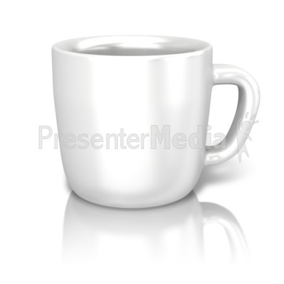 Single Coffee Cup Presentation clipart