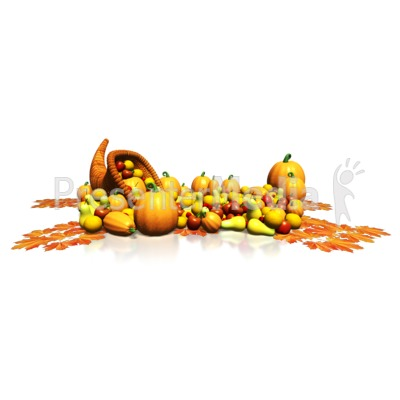 Bountiful Harvest Presentation clipart