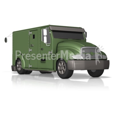 Armored Truck Presentation clipart