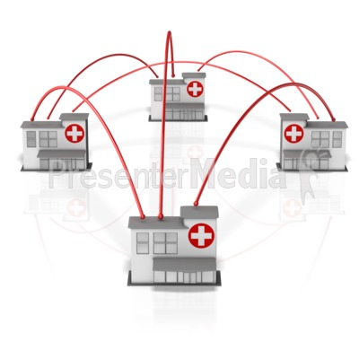 Hospital Network Presentation clipart