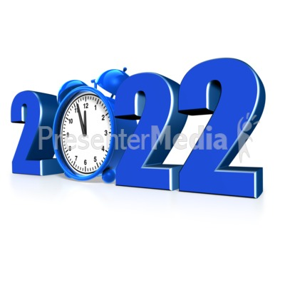 Custom Year Alarm Clock Presentation clipart