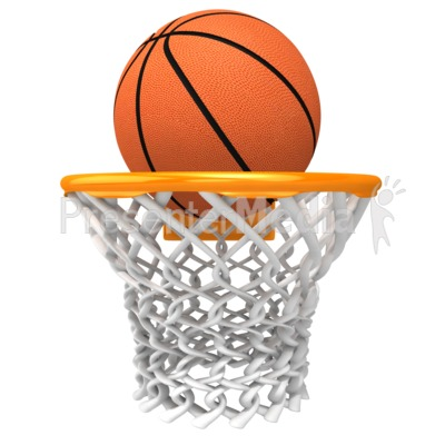 Basketball Rim Presentation clipart