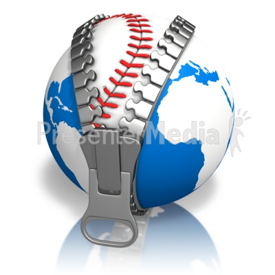 Earth Baseball Reveal Presentation clipart