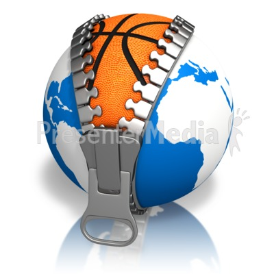 Earth Basketball Reveal Presentation clipart
