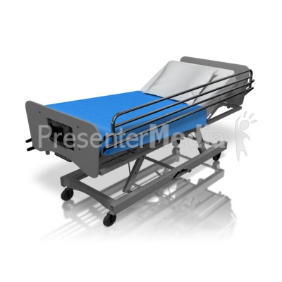 Hospital Bed Presentation clipart