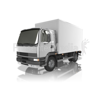 Delivery Truck Presentation clipart