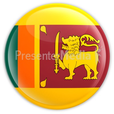 Sri Lanka Badge Presentation clipart
