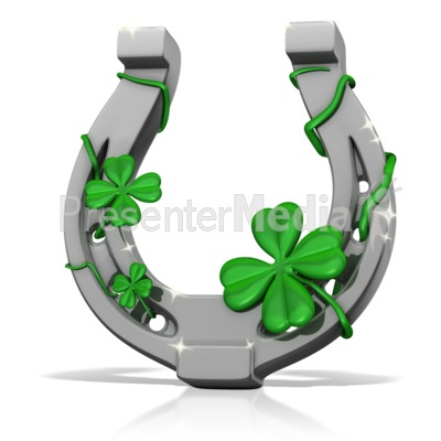 Lucky Horseshoe Presentation clipart