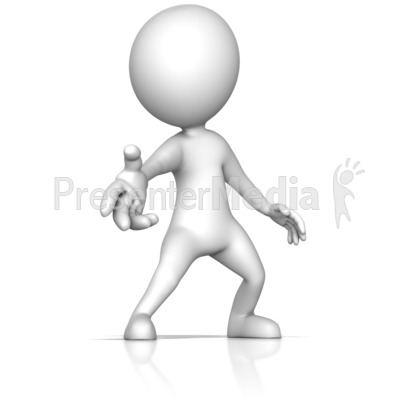 Reaching Out with Helpful Hand Presentation clipart