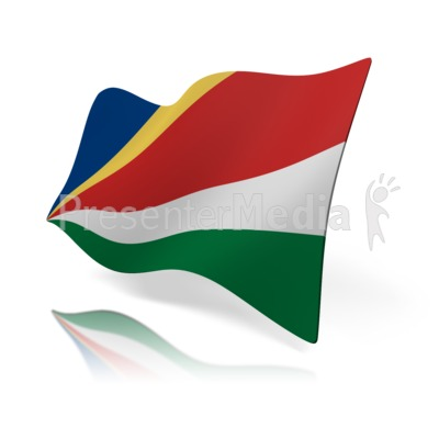 Flag Of Seychelles Presentation clipart