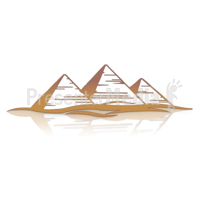 Great Pyramids Presentation clipart