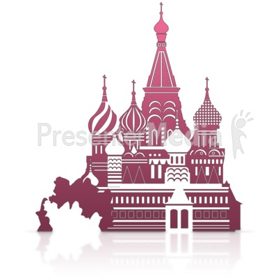 Saint Basils Cathedral Kremlin Presentation clipart