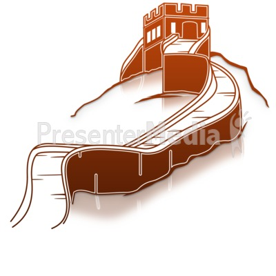 Great Wall Of China Presentation clipart