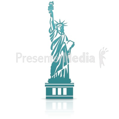 Statue Of Liberty Presentation clipart