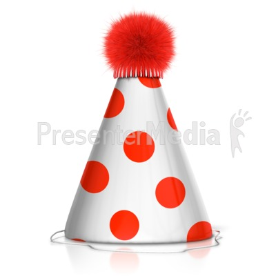 Party Hat Presentation clipart