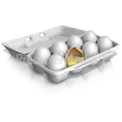Bad Egg of the Bunch Presentation clipart