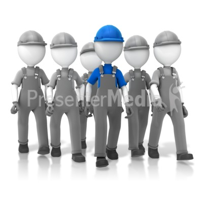 Construction Crew Leader Presentation clipart