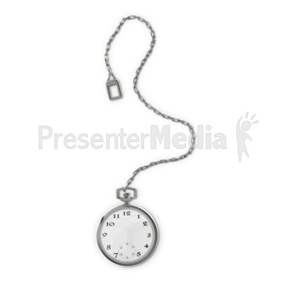 Pocket Watch Presentation clipart