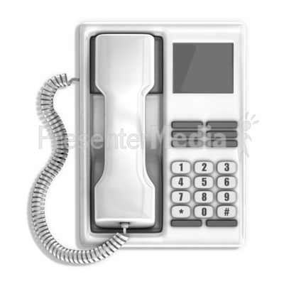 Office Telephone Presentation clipart