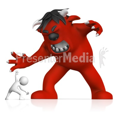 Fear Of Monsters Presentation clipart