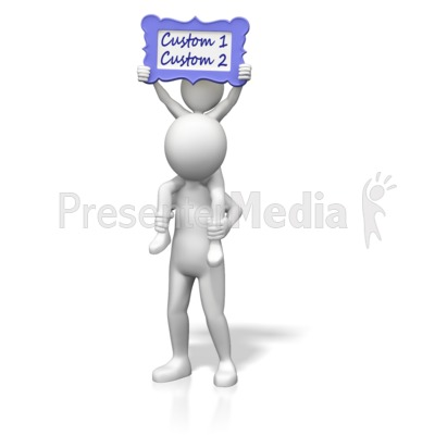Family Custom Message Presentation clipart