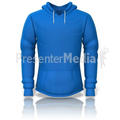 Front of a Sweatshirt Presentation clipart