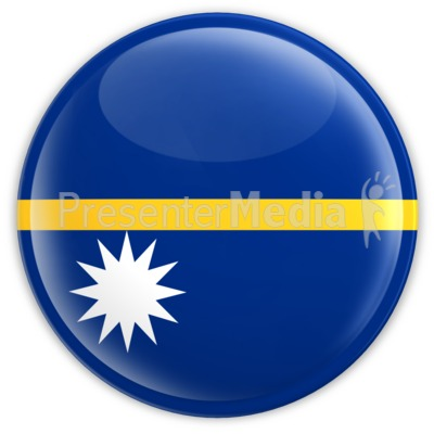 Nauru Badge Presentation clipart