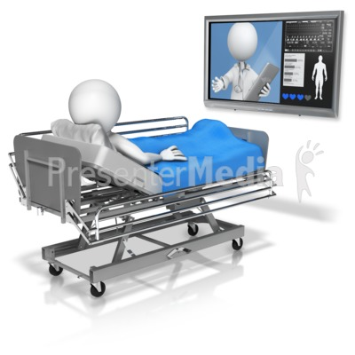Doctor Conference In With Patient Presentation clipart