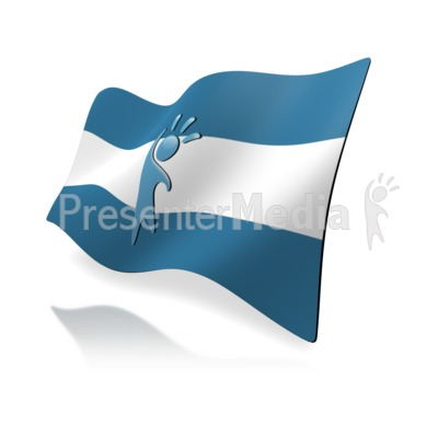 Flag Custom Presentation clipart