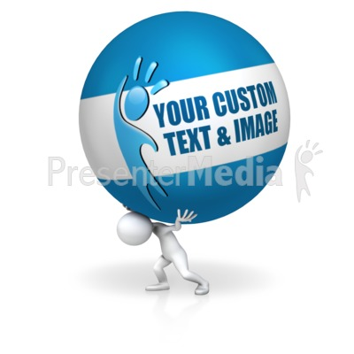 Carry The Ball Presentation clipart
