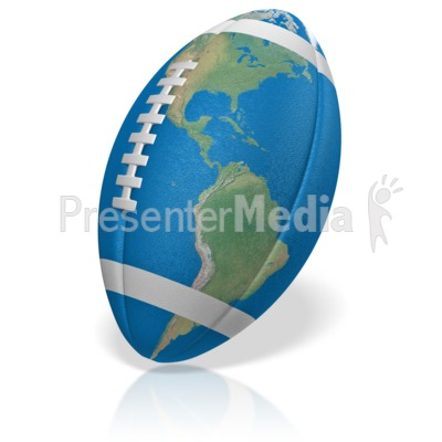 Football World Presentation clipart