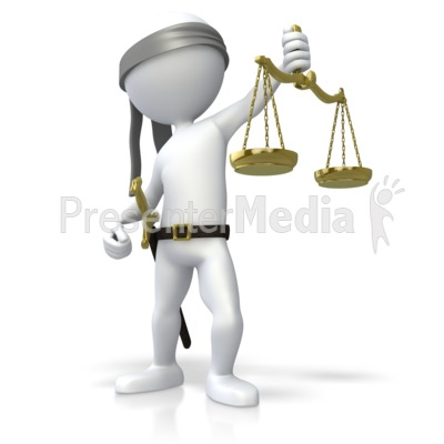 Blind Justice Sword In Scabbard Presentation clipart