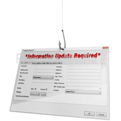 Phishing For Information Presentation clipart