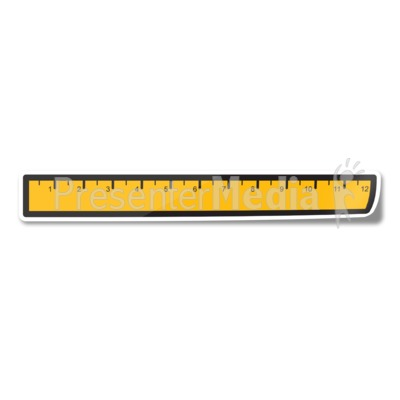 Ruler Icon Sticker Presentation clipart