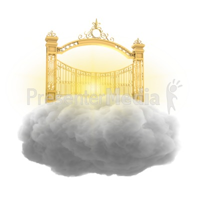 Heavenly Gate Presentation clipart