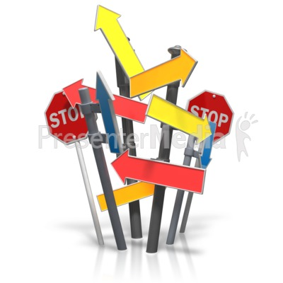 Bundle Of Signs Presentation clipart