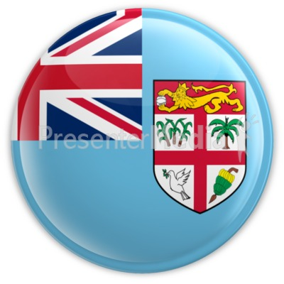 Fiji Badge Presentation clipart