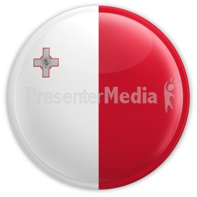 Malta Badge Presentation clipart