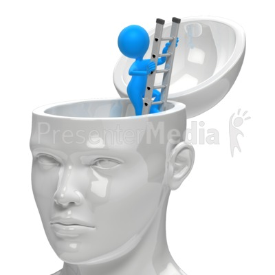 Get Out Of Your Own Head Presentation clipart
