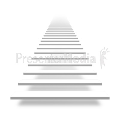 front basic stairs great powerpoint clipart for presentations presentermedia com powerpoint clipart for presentations