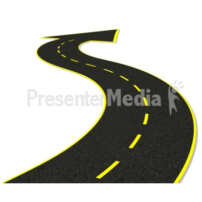 Street Arrow Point Presentation clipart
