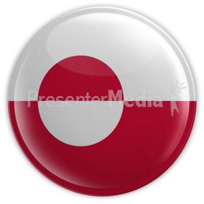 Greenland Badge Presentation clipart