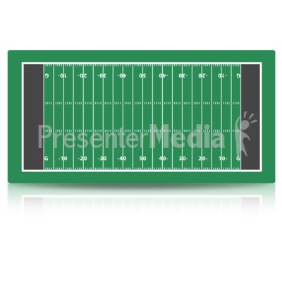 Football Field Presentation clipart