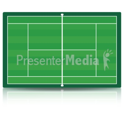 Tennis Court Presentation clipart